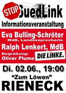 Plakat Südlink